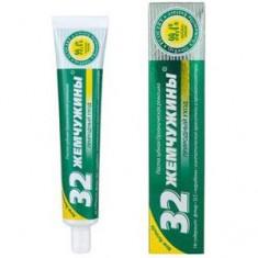 Зубная паста Органическая ромашка 32 ЖЕМЧУЖИНЫ