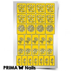 Prima Nails, Трафареты «Цветочный микс 1»
