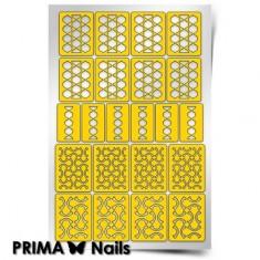 Prima Nails, Трафареты « Абстракция-2»