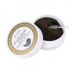 патчи для кожи вокруг глаз гидрогелевые c черным жемчугом petitfee black pearl&gold hydrogel eye lifting patch