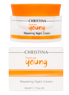 Forever Young Repairing Night Cream Christina Cosmetics