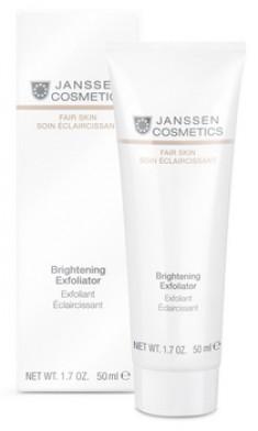 JANSSEN Пилинг-крем для выравнивания цвета лица / Brightening Exfoliator FAIR SKIN 50 мл