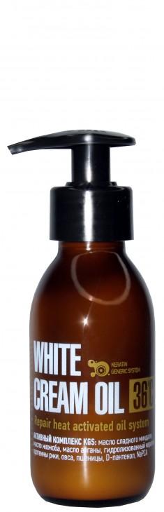 PROTOKERATIN Крем-масло восстанавливающее / REPAIR WHITE CREAM OIL 50 мл