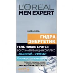 L`OREAL Гель после бритья Men Expert HYDRA ENERGETIC Ледяной Эффект восстанавливающий комплекс 100 мл L`OREAL PARIS