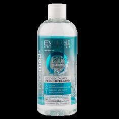 Мицеллярная вода EVELINE FACEMED+ 3 в 1 очищающая 400 мл