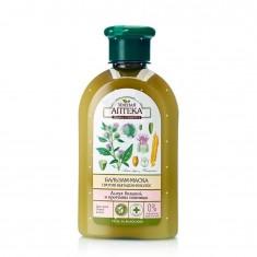 Зеленая аптека бальзам-маска Лопух/протеины пшеницы против выпадения волос 300мл ЗЕЛЕНАЯ АПТЕКА