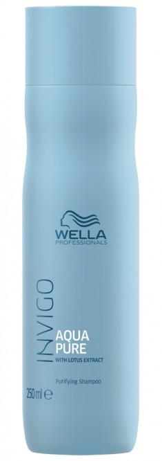 Wella Invigo Balance Aqua Pure очищающий шампунь 250мл