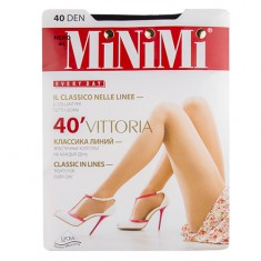 Колготки женские MINIMI VITTORIA 40 den Nero р-р 4