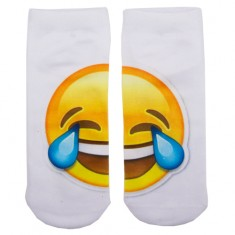 Носки женские SOCKS Big emoji Tears р-р единый