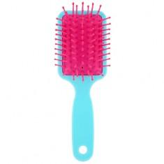 Расческа для волос LADY PINK FLAMINGO компактная голубая
