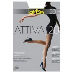 Колготки женские OMSA ATTIVA 20 den Nero р-р 5