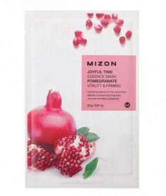 Тканевая маска с гранатом MIZON Joyful Time Essence Mask Pomegranate