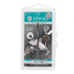 Zinger, Ножницы маникюрные Salon BS-307-S, загнутые узкие