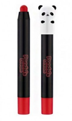 Помада-карандаш стойкая TONY MOLY Panda's dream glossy lip crayon 04 Red Berry