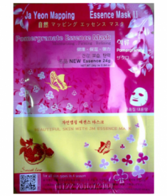Маска для лица с экстрактом граната JAYEONMAPPING Pomegranate essence mask 24 г.