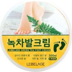 Смягчающий крем для ног Green Tea Foot Cream Lebelage