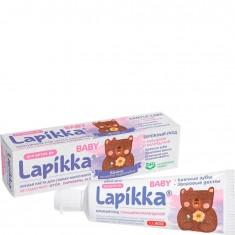 Зубная паста Lapikka Baby Бережный уход с кальцием и календулой R.O.C.S