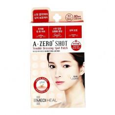 Набор точечных пластырей для лица MEDIHEAL A ZERO SHOT Trouble dressing spot 80 шт