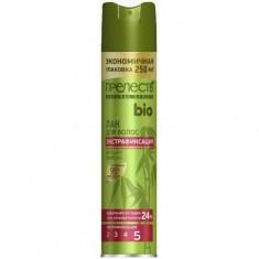 Лак для волос Bio с экстрактом бамбука экстрафиксация ПPEЛЕСТЬ