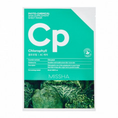 Маска тканевая с брокколи MISSHA Phytochemical Skin Supplement Sheet Mask Chlorophyll/AC Care