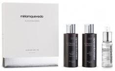 MIRIAM QUEVEDO Набор-люкс для ультраобъема и блеска волос / Platinum & Diamonds Global Rejuvenation Set 2*100 мл + 50 мл
