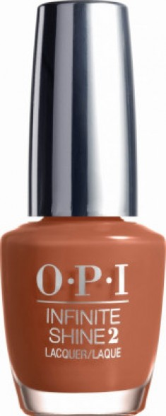 Лак для ногтей OPI Infinite Shine Brains & Bronze ISL23