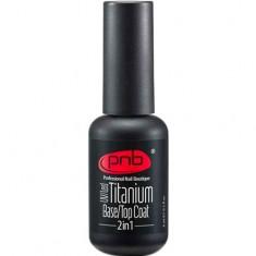 Базовое и верхнее покрытие UV/LED Titanium Base/Top Coat 2-in-1 PNB