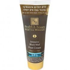 Крем для ног интенсивный на основе грязи Мертвого моря HEALTH&BEAUTY