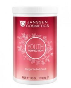 Скраб для тела с маслом из косточек клюквы Janssen Cosmetics Younger You Body Scrub 1000мл