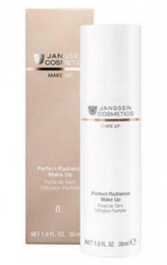 Тональный крем с UV-защитой SPF-15 Janssen Cosmetics Perfect Radiance Make Up №00 слоновая кость 30мл