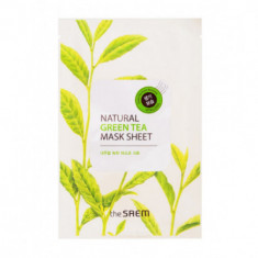 Маска тканевая с экстрактом зеленого чая THE SAEM Natural Green Tea Mask Sheet 21мл