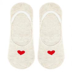Носки женские SOCKS HEART Beige, р-р единый