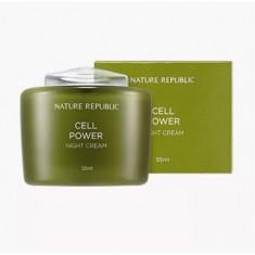 крем для лица ночной nature republic cell power night cream