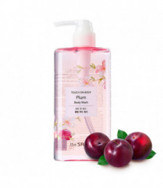 Гель для душа слива THE SAEM TOUCH ON BODY Plum Body Wash 300мл
