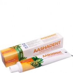 Зубная паста Кардамон - Имбирь Aasha Herbals