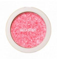 Румяна компактные THE SAEM Eco Soul Carnival blush 01 Rose 9,5г