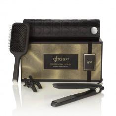 GHD Набор стайлер для укладки волос ghd gold+термостойкая сумка+плоская щетка+зажимы