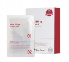 Маска для лица с лифтинг эффектом Mijin Skin Planet ULTRA Lifting Chitosan mask 26гр