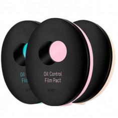 пудра рассыпчатая компактная a'pieu oil control film pact
