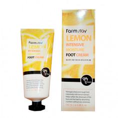 FarmStay, Крем для ног Lemon Intensive Moisture, 100 мл