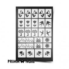 Prima Nails, Трафареты «Весна»