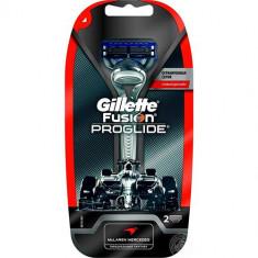 Бритва с 2 сменными кассетами для чувствительной кожи Fusion ProGlide Silver GILLETTE