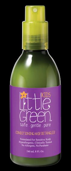 LITTLE GREEN Кондиционер несмываемый для облегчения расчесывания / KIDS 240 мл