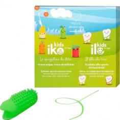 Детский набор антибактериальный фторирующий (Зубная щетка iKO Kids, зубная нить iLO Kids), Яблоко MELO - WHEN YOU'RE SMILING