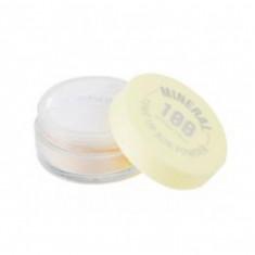 минеральная финишная солнцезащитная рассыпчатая пудра spf50+/pa+++ a'pieu mineral 100 tone up sun powder spf50+ pa++