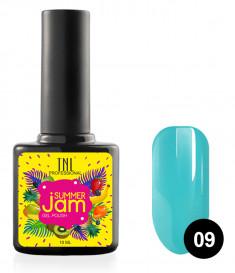 TNL PROFESSIONAL 09 гель-лак для ногтей, темно-бирюзовый / Summer Jam 10 мл