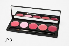 Палитра помад 5 оттенков (5 Lip Palette) MAKE-UP-SECRET LP3