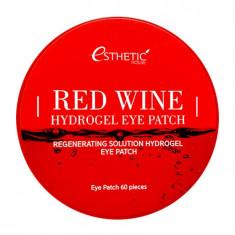 Esthetic House Гидрогелевые патчи для век с экстрактом красного вина 60шт