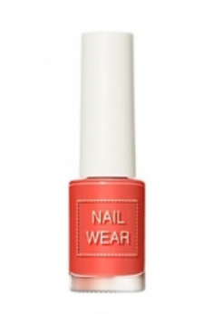 Лак для ногтей THE SAEM Nail wear 97. Healthy Coral 7мл