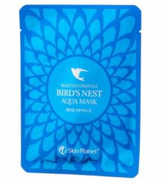 Маска для лица тканевая с экстрактом ласточкиного гнезда Mijin Skin Planet BIRD NEST AQUA MASK 25г